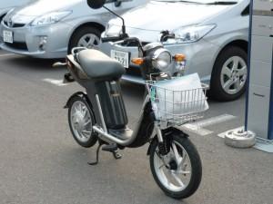 EC-03(ヤマハ電動二輪車)