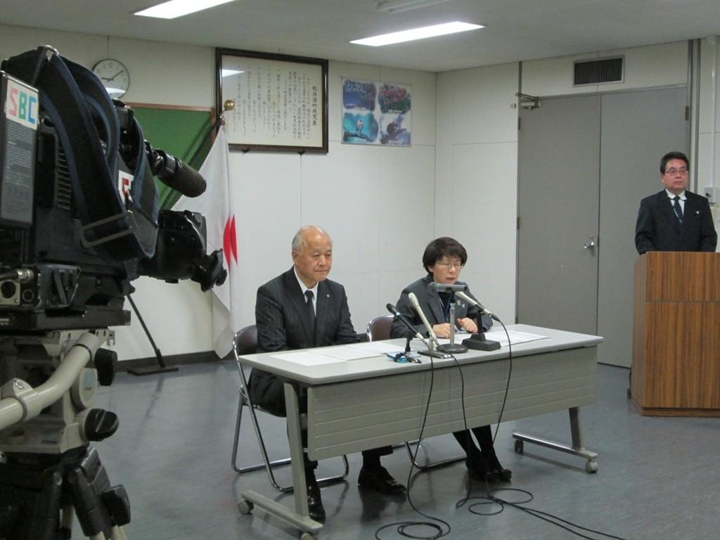 軽井沢町役場 記者会見 2015.12.25.21:00 Karuizawa-news.org
